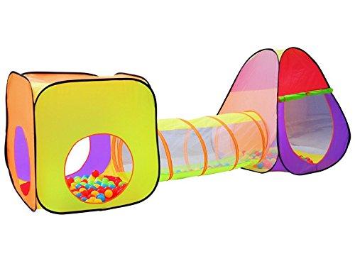 ISO TRADE Igloo Tenda con Tunnel E 200 Sfere per Bambini Bambini Gioca #2880