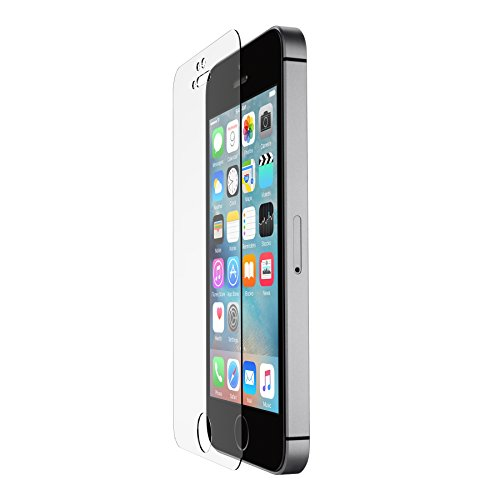 Belkin Screen Force Tempered Glass Hartglas Displayschutzfolie (geeignet für iPhone SE, iPhone 5/5s/5c) Belkin Screen Overlay