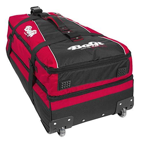 BoGi Bag Unisex– Erwachsene Reistrolley 110 Liter-Rot/Schwarz Reisetasche 85 cm - 6