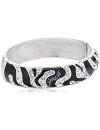 Guess Damen-Armband Edelstahl schwarz 40 Swarovski-Kristalle 17.5 cm UBB71208