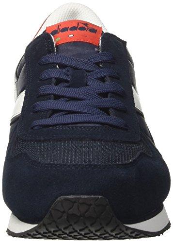 Diadora Herren K-Run Ii Sneaker Low Hals, Dark Blue/Ferrari Red Blau (Blu Scuro/rosso Ferrari Italia)