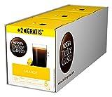 NESCAFÉ Dolce Gusto Grande Kaffee 54 Kaffeekapseln (100% Arabica Bohnen, Feine Crema und kräftiges Aroma, Schnelle Zubereitung, Aromaversiegelte Kapseln) 3er Pack (3 x 16 + 2 Kapseln)