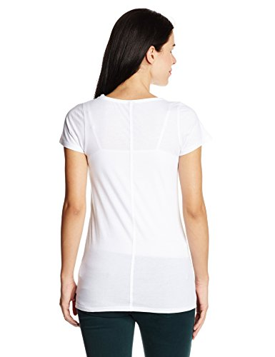 Replay Damen T-Shirt W3779 .000.22162 Weiß (White 1)