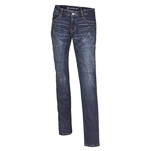 Germot Jessy Motorrad Jeans Damen regular blau Protektoren Hose Aramid Fasern, 18030034, Größe 34/50