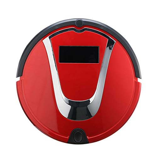 Gmjay Automatischer Nachfüllender Intelligenter Staubsauger Roboter Ausgangsfegeroboter Für Bretterboden/Fliese/Marmor/Teppich,red