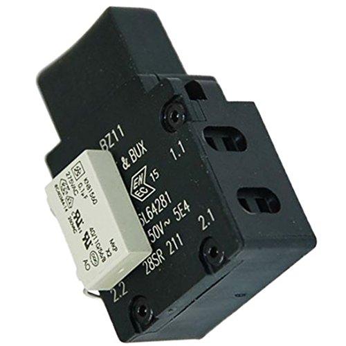 Zink Produkte auf aus-Schalter Starter Einheit für Bosch Rotak 3236374040047Rasenmäher