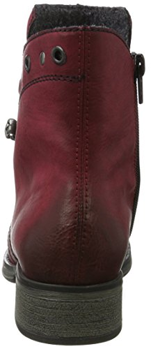 Rieker Ladies Y9730 Boots Red (vino)