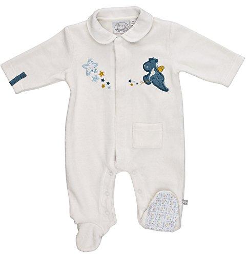 Noukies - Victor&Lucien VICTOR Pyjama funny blanc - Blanc - Weiß (weiß ) - 3 mois