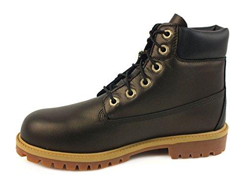 Boys Timberland Junior Boys 6 Inch Premium Boots in Black Primaloft Insulation  1