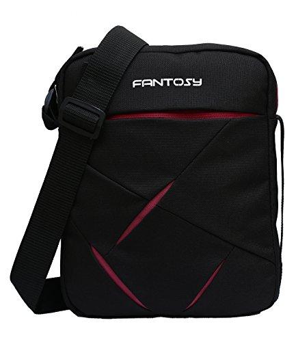 fantosy men and women Maroon Cross side bag MB-020
