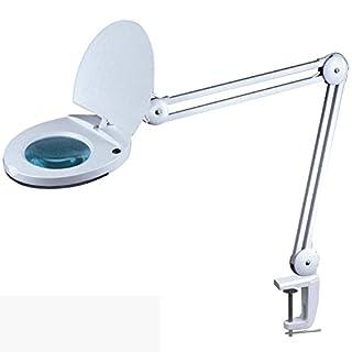 Radiostore LED- Lupenleuchte 1113/1115, 3 oder 5 Dioptrien Linse und 48 SMD-LEDs, Arbeitsplatzlampe/Lupenlampe mit 48 super Hellen SMD-LEDs für Kosmetik, Modellbau und Hobby 5