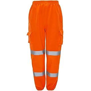 Army And Workwear Herren Arbeitshose Gr. L L 34-38 Taille, Orange - GO/RT 3279 Rail Spec, EN471:2003 + A1:200