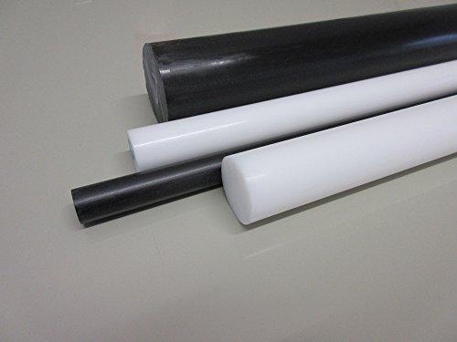 POM Rundstab Ø50mm Länge 50 cm schwarz Kunststoff POM-C Halbzeug Modellbau Rundstäbe