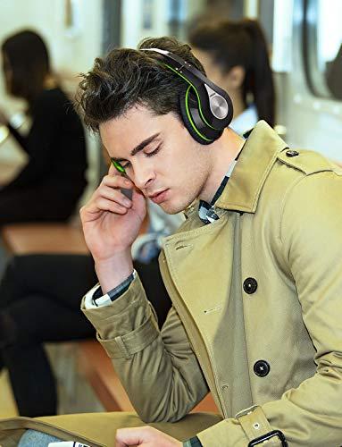 Mpow Bluetooth Kopfhörer Over Ear, [Bis zu 20 Std] Kabellose Kopfhoerer mit Hi-Fi Stereo mit Dual 40mm Treiber, CVC 6.0 Noise Canceling für Integriertem Mikrofon Freisprechen - 6