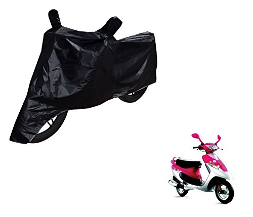 Auto Hub Black Matty Bike Body Cover For TVS Scooty Pep Plus  available at amazon for Rs.275