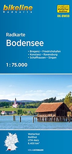 Bodensee cycle map GPS wp (Touring Club Italiano) por Esterbauer Verlag GmbH