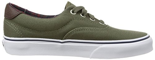 Unisex Sneaker von Vans–Era 59CA Green (Plaid - Ivy Green)