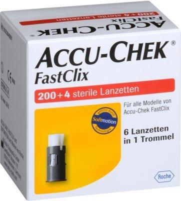 Accu Chek Fastclix Lanzet 204 stk