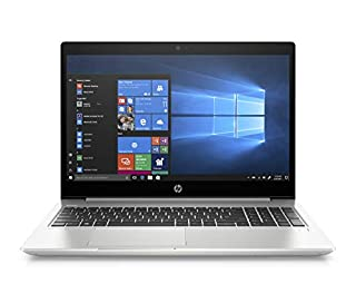 "HP-PC ProBook 450 G6 Notebook PC, Windows 10 Pro 64, Intel Core i7-8565U, 16 GB DDR4, HDD da 1 TB e SSD da 128 GB, Display IPS 15.6"" Antiriflesso FHD, NVIDIA GeForce MX130, Argento (B07SZ93YDC) 