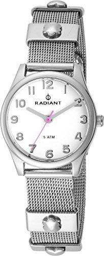 Radiant Uhr-Silber-Stahl RA386201 Mädchen Kommunion