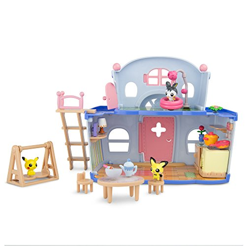 Pokemon Pika-Poke Petite Pals House Party Playset (Petit Pokemon)