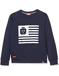 Lego Wear Lego Boy Saxton 301-Sweatshirt, Sweat-Shirt Garçon
