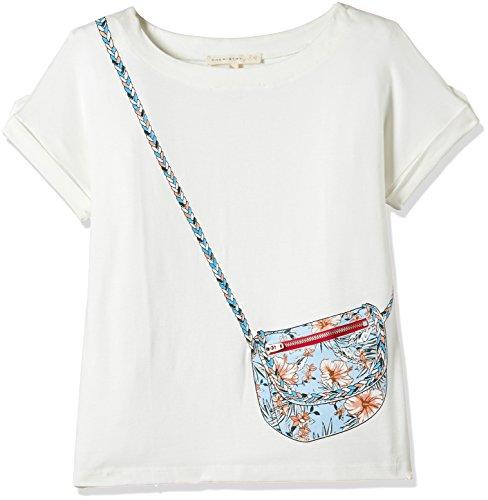Chemistry Girl Girls' T-Shirt (GA17-460KTTEESSV_Off White_9/10)
