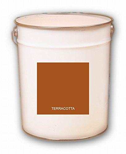 5 Liter Terracotta Acryl Dachfarbe Dachanstrich Ziegelfarbe Dachbeschichtung Metalldach Blechdach Acrylat Basis