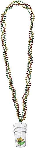 Beistle 57231geflochten Perlen mit 91,4cm Fiesta Glas, 21/-/Bratenspritze