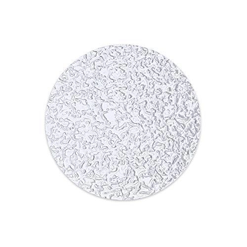 HaftPlus - 28 Dischetti Adesivi Antiscivolo per Piatto Doccia e Vasca da Bagno, 1 Set di Gommini Antisdrucciolo Trasparenti, Ø 38 mm