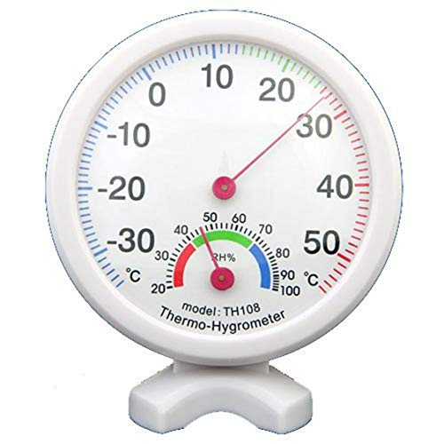 REFURBISHHOUSE Thermometer Hygrometer Wetterstation f. Schule Buero Fuer Zuhause, Schule, Buero, Gaestehaus, Fabrik