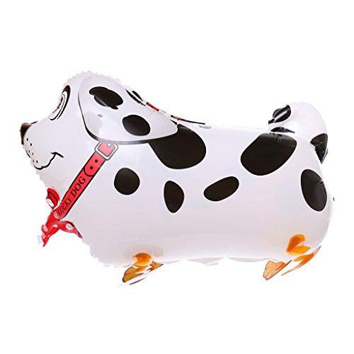 Preisvergleich Produktbild Gazechimp Laufende Fleckige Hund Ballon Haustier Luftballon Laufende Tiere Geburtstag Spielzeug