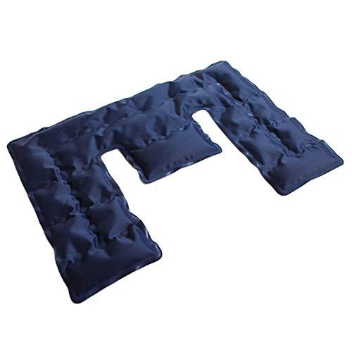 Ecisi Hot & Cold Neck & Shoulder Wrap, wiederverwendbarer Eisbeutel für Verletzungen und Schmerzlinderung, extra kalte, lang anhaltende Gelformel für Kopfschmerzen, Migräne, Angst und Stressabbau - Lang Anhaltende Schmerzlinderung