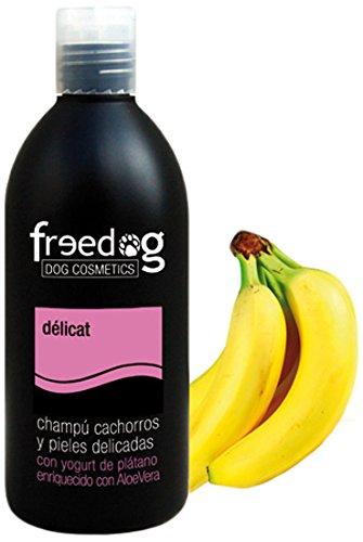 Freedog FD1200084 - Champú, para perro y gato  champú delicat