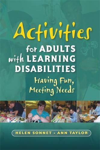 Activities for Adults with Learning Disabilities Cover Image
