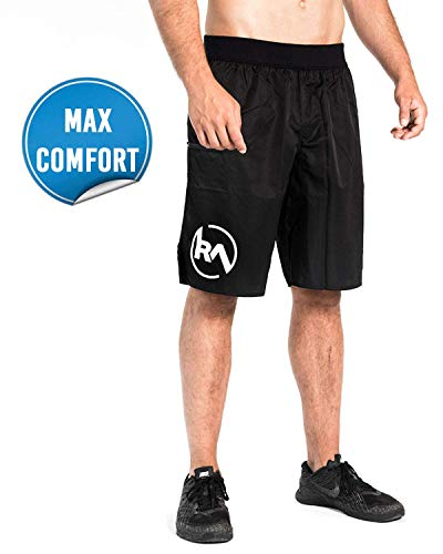 REP AHEAD® Shorts - Innovative Sporthose für Herren - Extra Flexible Trainingshose - Perfekt geeignet für Crossfit | Fitness | Gym | Gewichtheben | Bodybuilding | Kraftsport | Turnen | Calisthenics