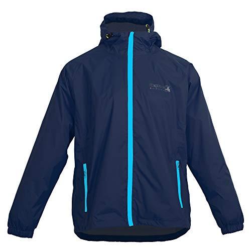 Outdoor Jacke und Regenjacke Deproc Robson Farbe darkblue, Größe 4XL