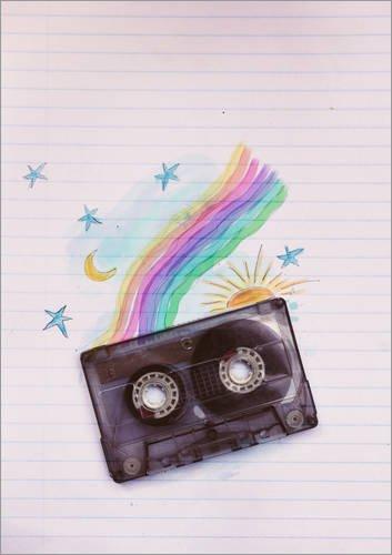 Póster 30 x 40 cm: Rainbow Tape de Sybille Sterk - impresión artística, Nuevo póster artístico