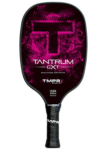 8226a57a5fa3e4 TMPR Sports Tantrum GXT Haute Performance, nid d'abeille en polymère,  Graphite Pickleball