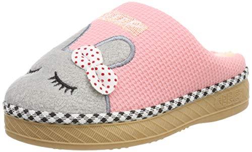 SITAILE Jungen Mädchen Winter Pantoffeln Slippers Schuhe mit Plüsch gefüttert Wärme Weiche Rutschfeste Hausschuhe Für Kinder Baby