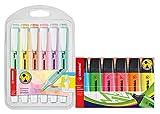 Marcador pastel STABILO swing cool - Estuche con 6 colores