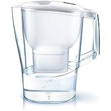 Brita Wasserfilter Aluna XL, inkl. 1 Maxtra+ Filterkartusche weiß