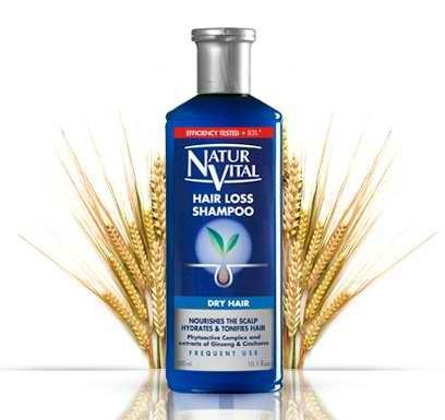 Naturaleza y Vida Shampoo Anticaduta per Capelli Secco - 300 ml