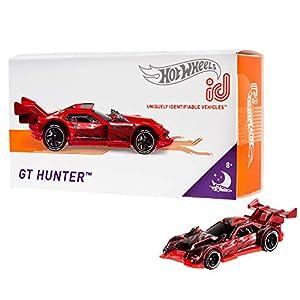 Mattel - Hot Wheels ID Vehículo de juguete,  coche GT Hunter , +8 años  ( FXB36)