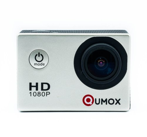 QUMOX Actioncam SJ4000, Action Sport Kamera Camera Waterproof, Full HD, 1080p Video, Helmkamera, Silber
