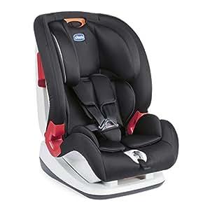 Chicco Seggiolino Auto Youniverse, Gruppo 1/2/3 (9-36kg), per Bambini da 1 fino a 12 anni circa, Nero