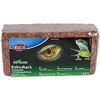 Trixie - Cáscara de coco sustrato terrario Tropical, 4.5L, 1 unidad