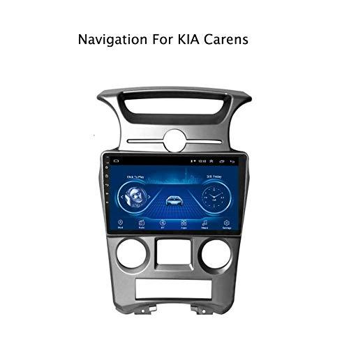 Hahaiyu In Dash Car Stereo 9-Zoll-Android 7.1 MP5-Player für KIA Carens (2007-2011), GPS-Radio-Stereo-2.5D-Touchscreen mit gebogenem Rand, WiFi, Bluetooth, Rückwärtsfahren