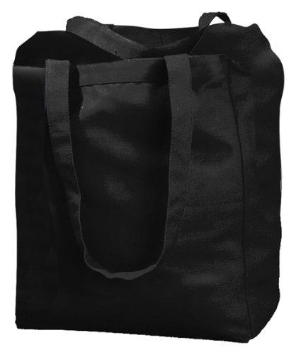 BAGedge BE009 12 ml, da adulto, Unisex, in tela, con borsa a portafoglio con cerniera Nero