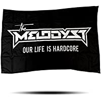 """The Melodyst """"Our Life is Hardcore"""" Flag - """"100x150cm"""""""